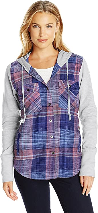 Columbia Canyon Point Camisa Jacquard para Mujer Morado Cuadros Bluebell S: Amazon.es: Ropa y accesorios