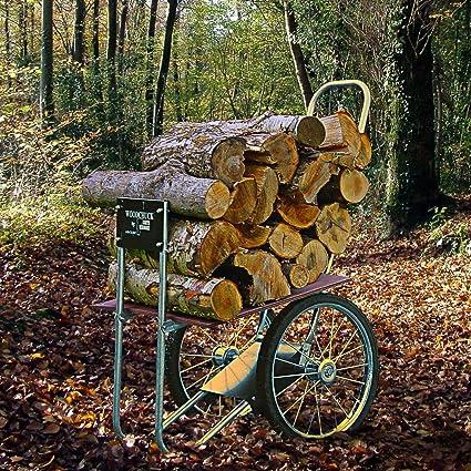 Amazoncom Carts Vermont Super Chuck Firewood Cart Wood Cart