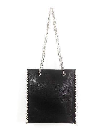 9d149c657b Zara Femme Shopper à clous 8040/204: Amazon.fr: Chaussures et Sacs