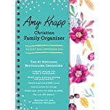 2021 Amy Knapp's Christian Family Organizer: 17-Month Weekly Faith & Inspiration Planner for Mom (Includes Stickers, Thru Dec