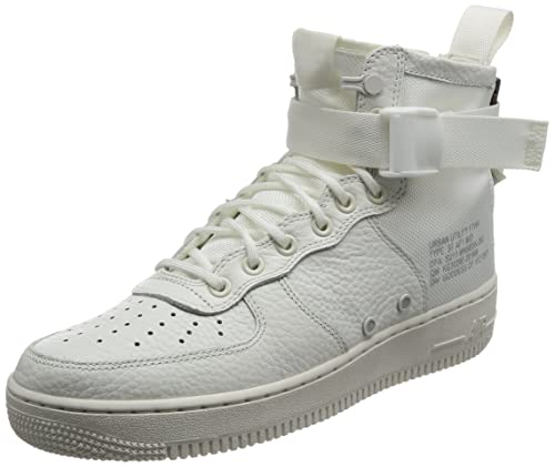 huge discount 245ef 1d6e5 SF AF1 Mid 'Triple Ivory' - AA6655-100 -: Amazon.co.uk ...