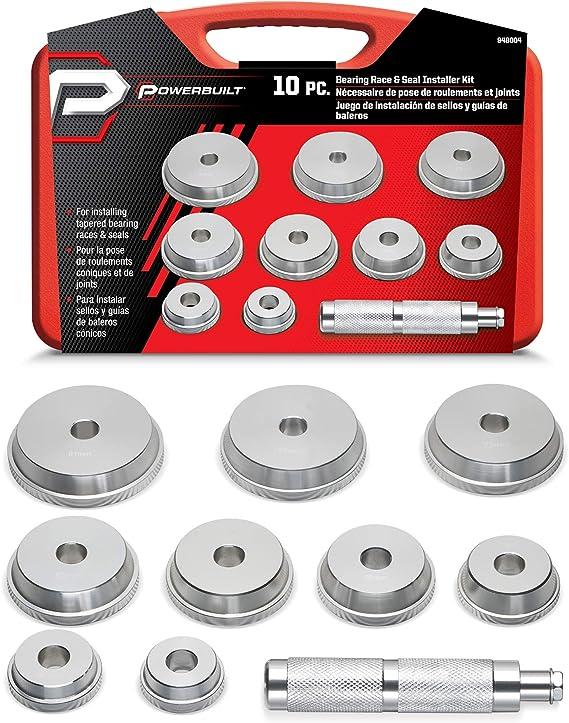 Amazon Com Powerbuilt 10 Pc Bearing And Race Installer Kit 948004 Automotive