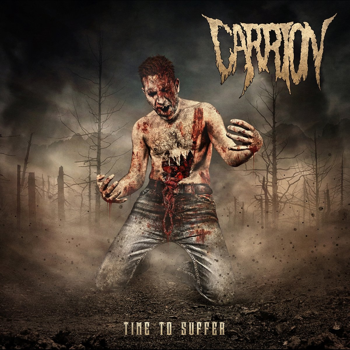 CD : Carrion - Time To Suffer (CD)