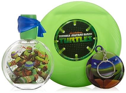 Ninja Turtles Eau De Toilette 50 ml + Frisbee + Portachiavi ...