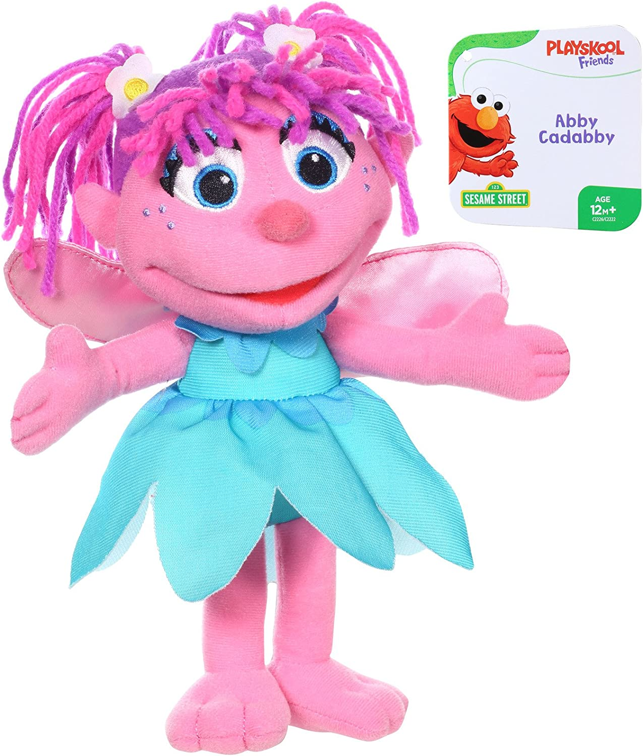 Sesame Street Mini Plush Abby Cadabby Doll 10 Inch Abby Cadabby Toy For Toddlers And Preschoolers Toy For 1 Year Olds And Up
