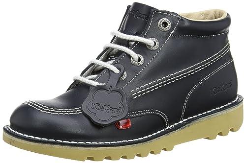 Kickerskick Hi Y Core - Botines Unisex, para niños, Color Azul, Talla 39 1/3 EU: Amazon.es: Zapatos y complementos