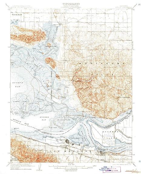 Amazon.com : YellowMaps Antioch CA topo map, 1:62500 Scale ...