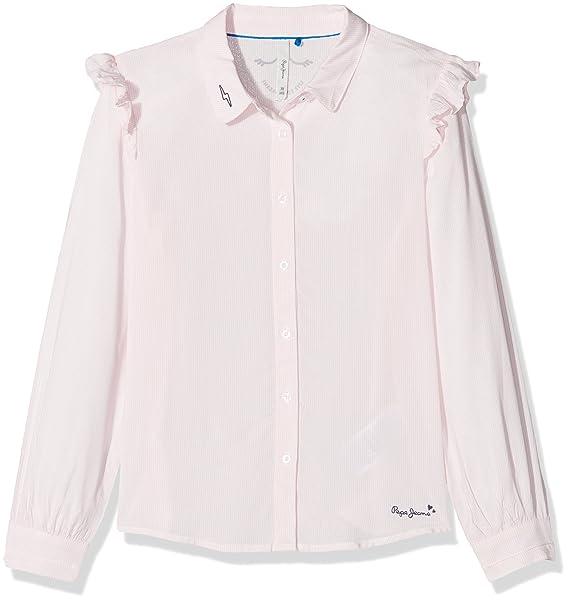 Pepe Jeans Trina Jr, Blusa para Niñas, Rosa (Pink), 10 años