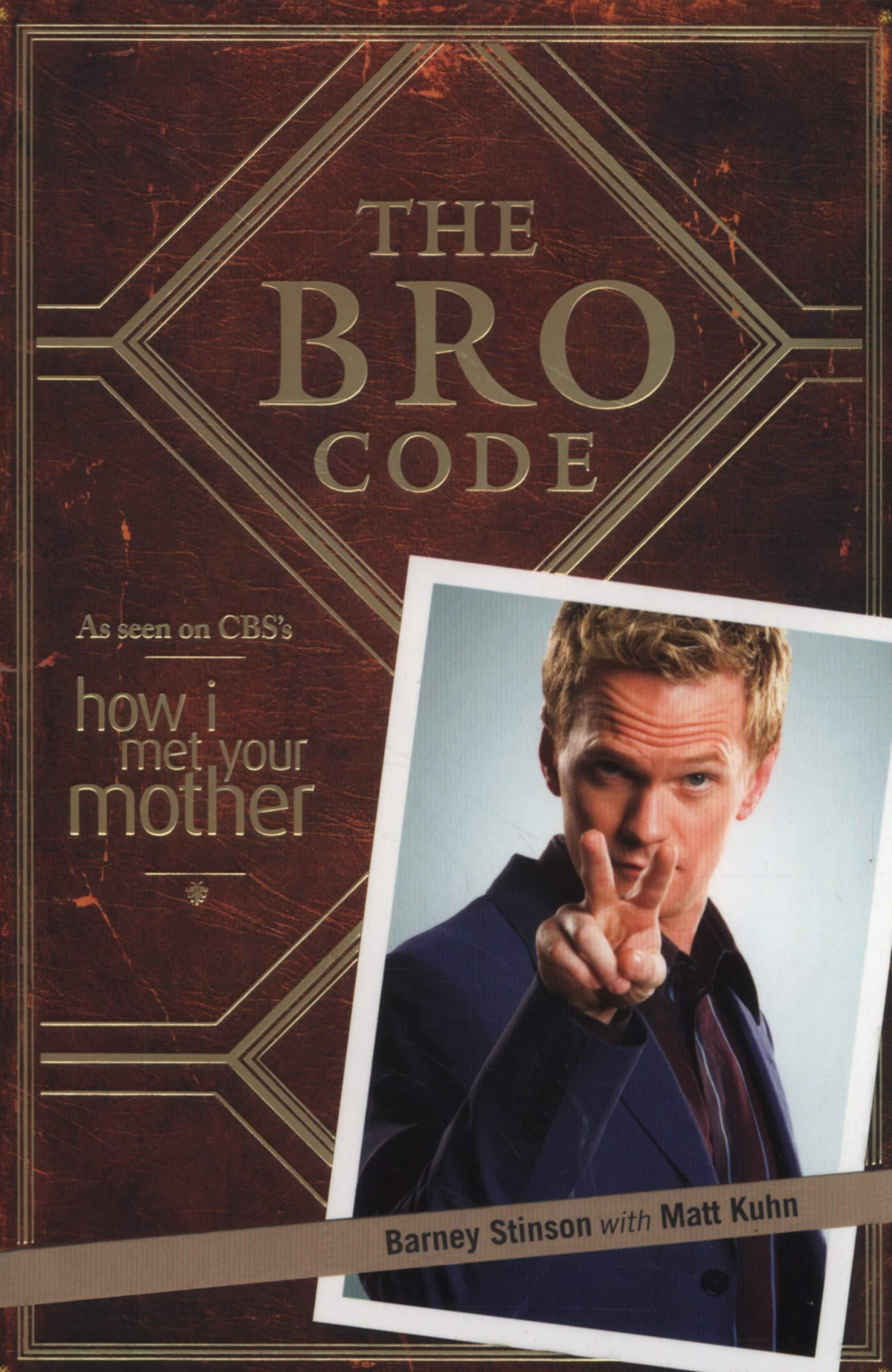barney stinson bro code book