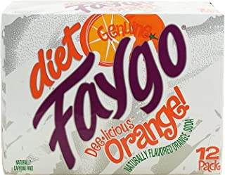product image for Faygo diet orange soda, 12-pack 12-fl. oz. cans