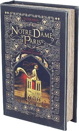 Home Gadgets Caja Forma de Libro Notre Dame 24 cm: Amazon.es: Hogar