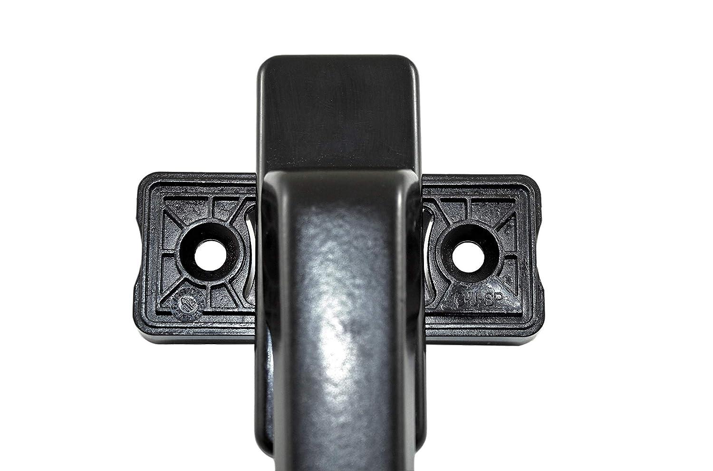 GU Drehgriff Balkont/ürgriff flach 6-28101-00-0-5 braun geeignet f/ür aussen hinter Rollade