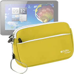 "DURAGADGET ""Travel Yellow Water Resistant Protective Neoprene Case for Acer Iconia A3-A10 Tablette Tactile 10.1"""