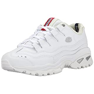 Skechers Sport Women's Energy Sneaker,White/Millennium,5 C - Wide
