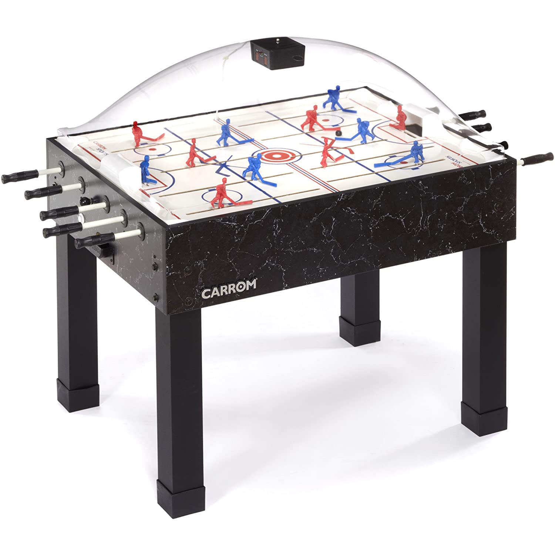 Air hockey table dimensions - Amazon Com Carrom 415 Super Stick Hockey Table Dome Hockey Tables Sports Outdoors