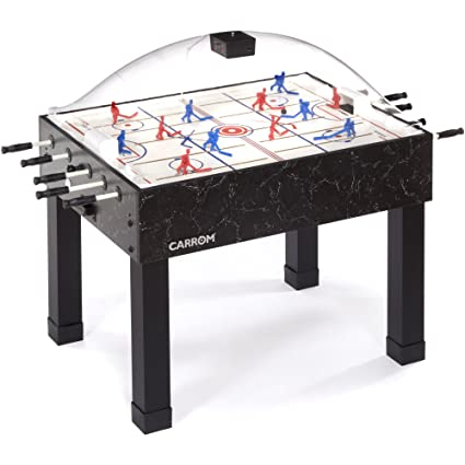 Amazon.com : Carrom 415 Super Stick Hockey Table : Dome Hockey ...