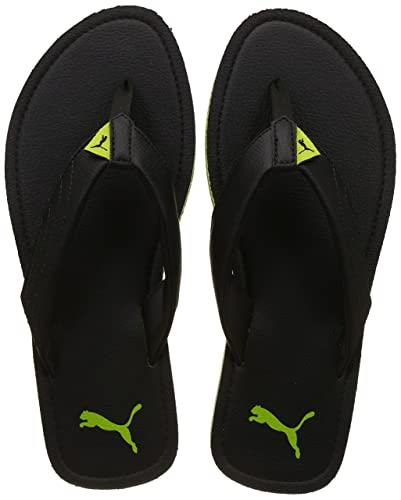 960a23a323dbe6 Puma Men s Black-Limepunch Sandals-6 (18889316)  Buy Online at Low ...