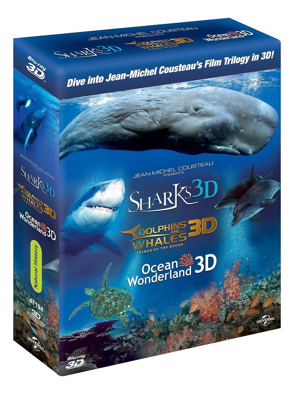 Jean-Michel Cousteau Film Trilogy Region-FreeUK
