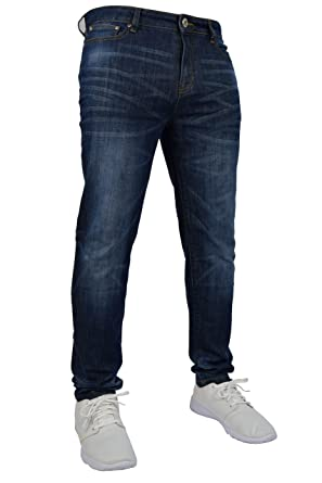 Herren Jeans, Stretch, Skinny Slim Fit Flex, Jeans-Hose, dehnbar, Denim, 98%  Baumwolle & 2% Stretch, Hosen für 28–40 Taille:  Amazon.de: ...