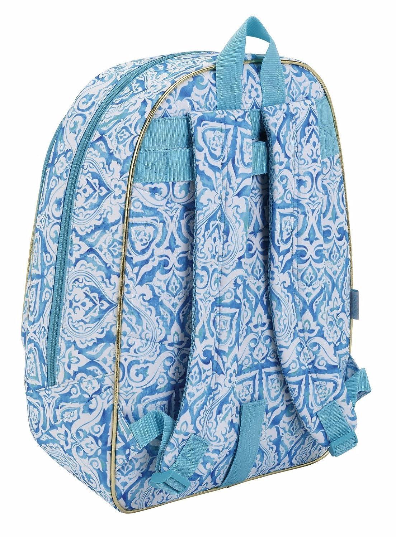 Babushka by Kimmidoll Kimmidoll Cartable, 46 cm, Bleu (Azul)