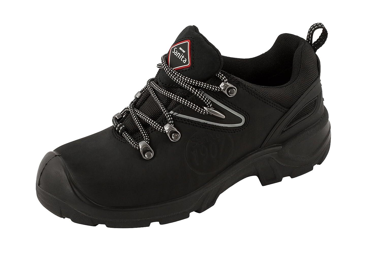 Sanita San-safe Chaussure De Dentelle Amazone, Chaussures De Sécurité Adulte Unisexe, Noir (2 Noir), 44 Ue