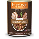 Instinct Grain Free Canned Dog Food, Stews Recipe with Gravy Natural Wet Dog Food