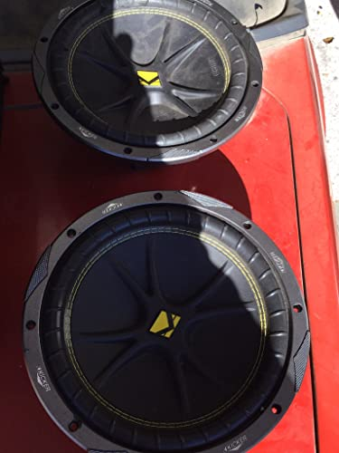 Kicker 10C104 Comp 10inch Car Subwoofers – Best Value Purchase