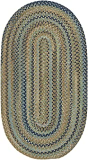 "product image for Capel Tooele Green 7' 6"" Round Braided Rug"