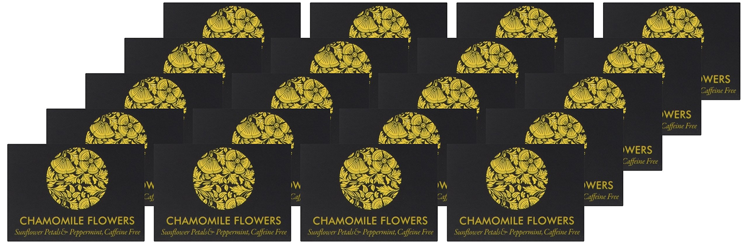 Ceremonie Tea Variety Sampler Gift Pack - A Collection Organized in 10 Assorted Sample Flavors, Set of 2 Each Mini Cube Tea Bags (20 total Bags)