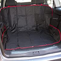 Babz BZ04/018 2 in 1 Boot Liner & Car Seat Cover-Ideal for Pets-Black