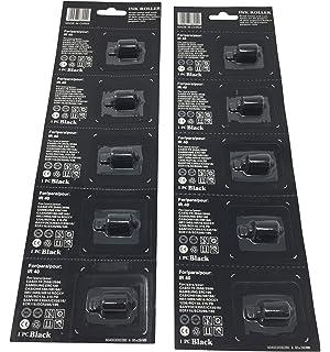 6 each Ink Rollers to fit XL Pro 18B 19B 21B-1 21B-2 22B 22C 22D 22V 22DA 22...