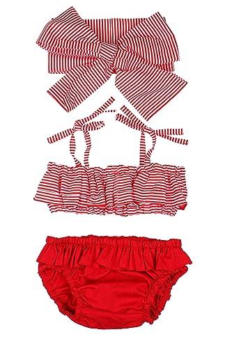 bdc250deaa12 Amazon.com  Baby girl bathing suit