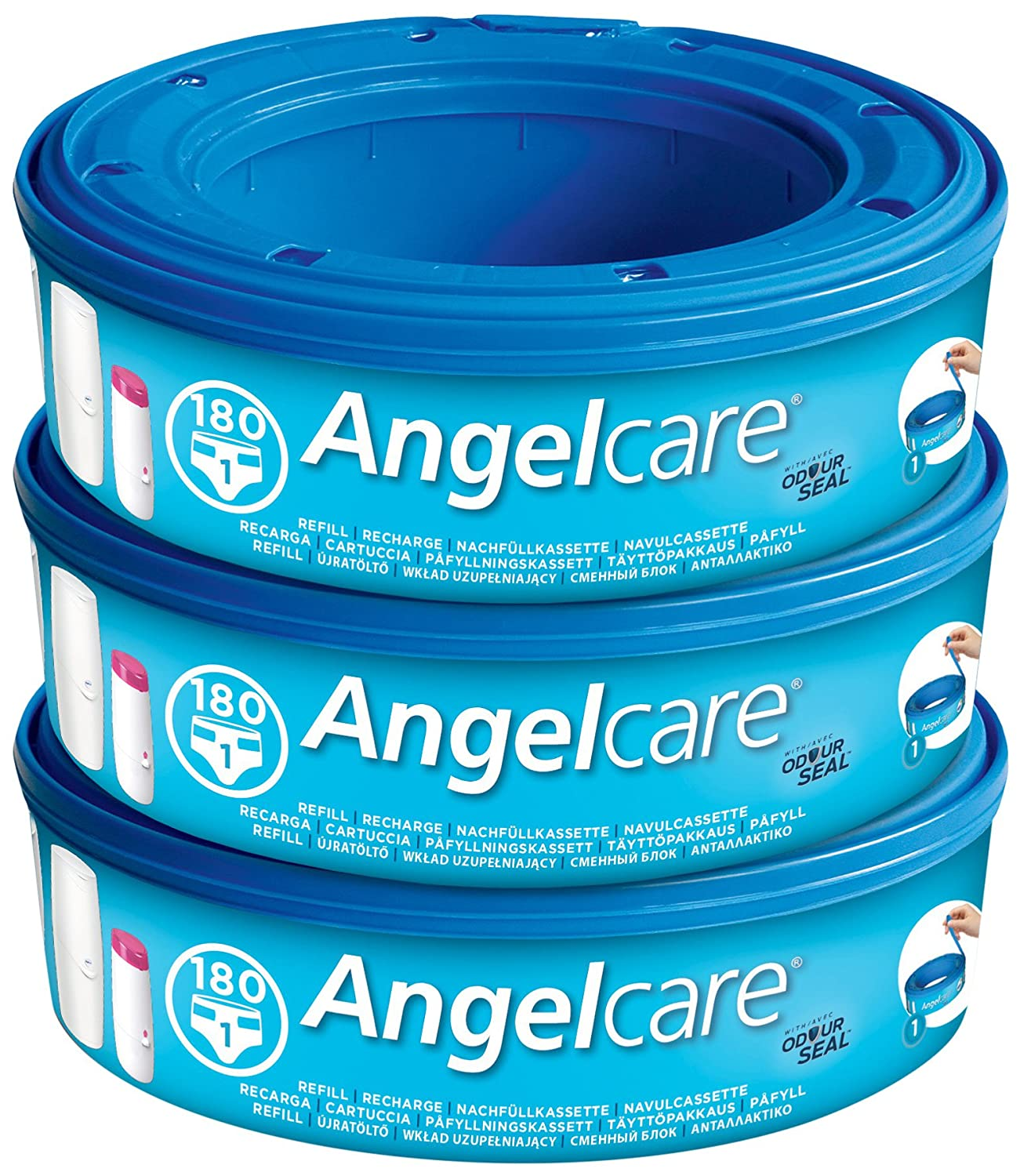 Angelcare Nappy Disposal System Refill Cassette - Single Pack Hardenberg & Co Ltd AC1000