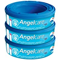 Angelcare Nappy Disposal System Refill Cassettes - Pack of 3