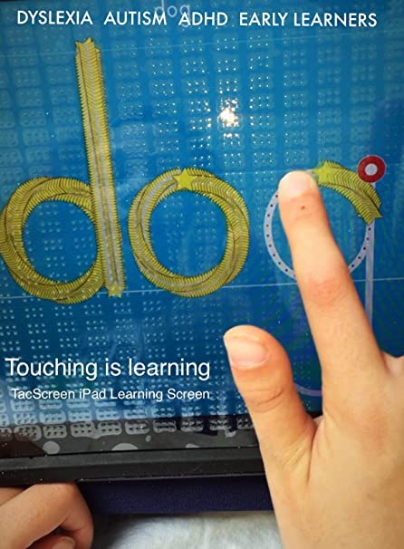 Amazon com: Multi-Sensory TacScreen Learning Screen Compatible with