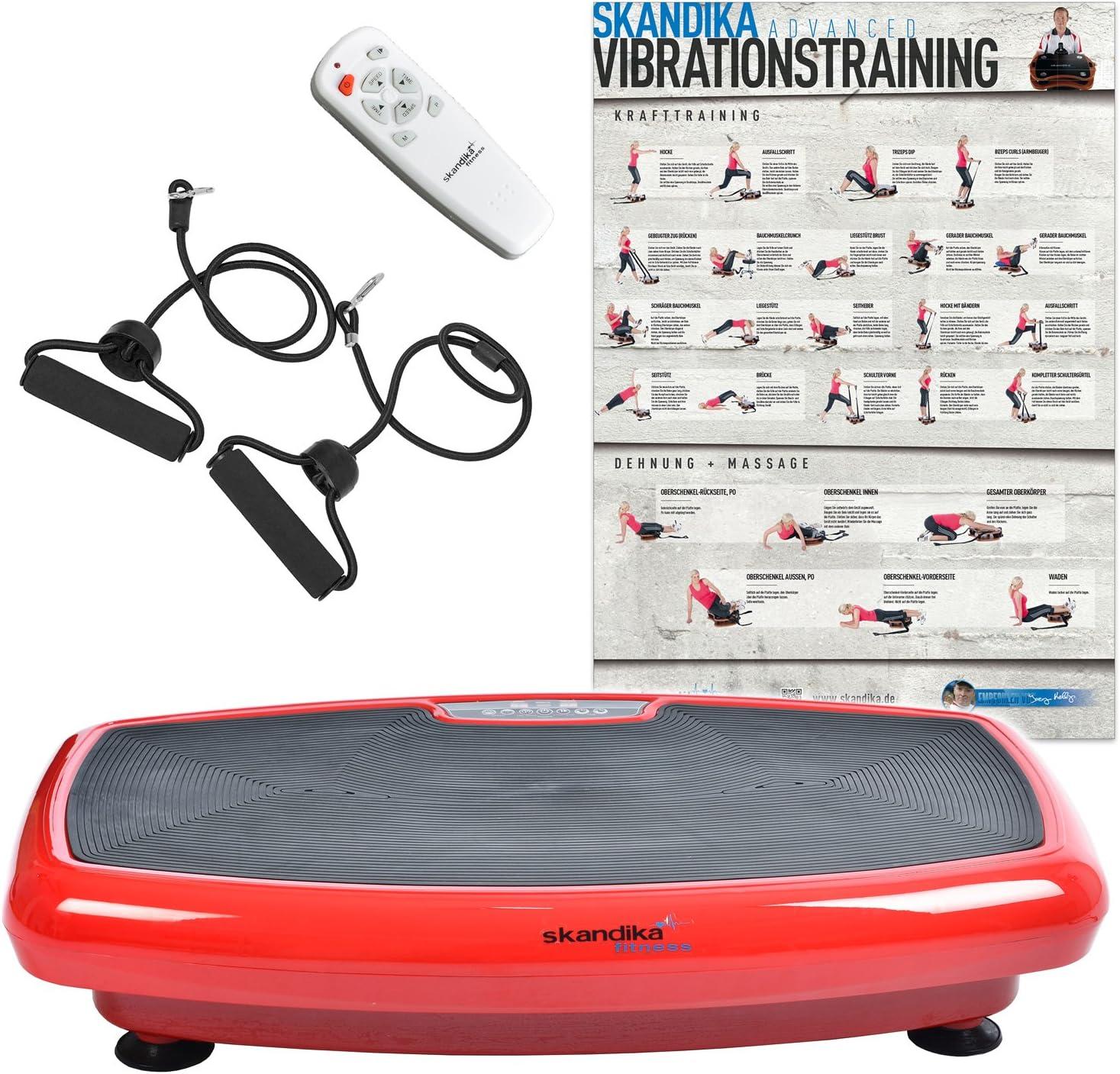 Skandika Home 600, Plataforma vibratoria, color Rojo: Amazon.es ...