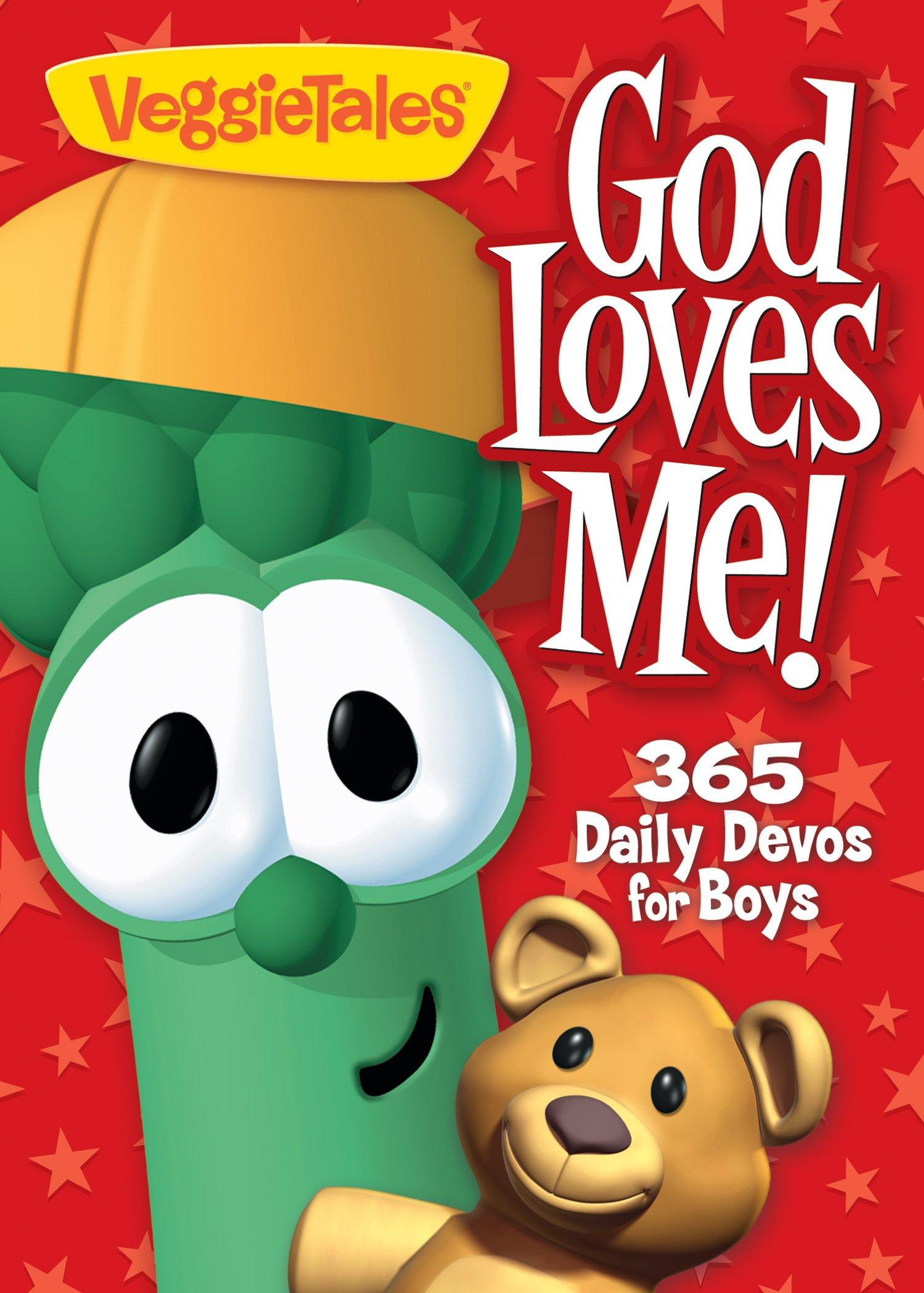 365 Daily Devos for Boys (Veggietales) Paperback – June 26, 2012