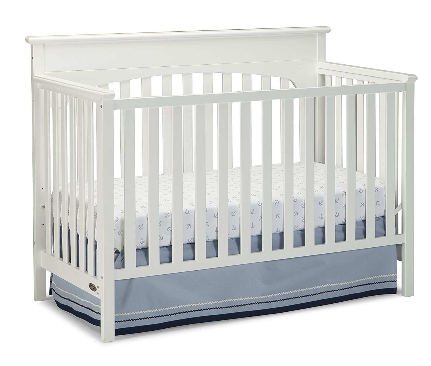 Crib price range - Graco Lauren Convertible Crib White