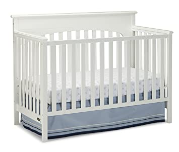 Amazon Com Graco Lauren Convertible Crib White Baby