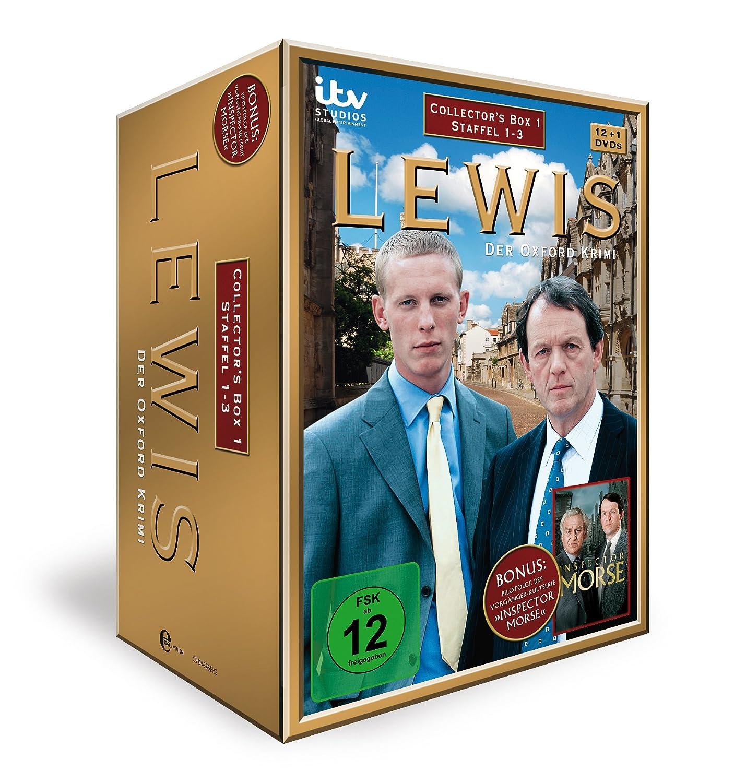 Lewis Der Oxford Krimi Collectors Box 1 13 Dvds Amazonde