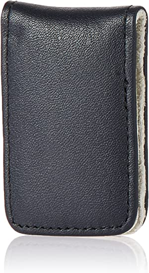One Size, Navy//Grey 810-NAVY-GREY-5 Royce Leather Mens Magnetic Money Clip