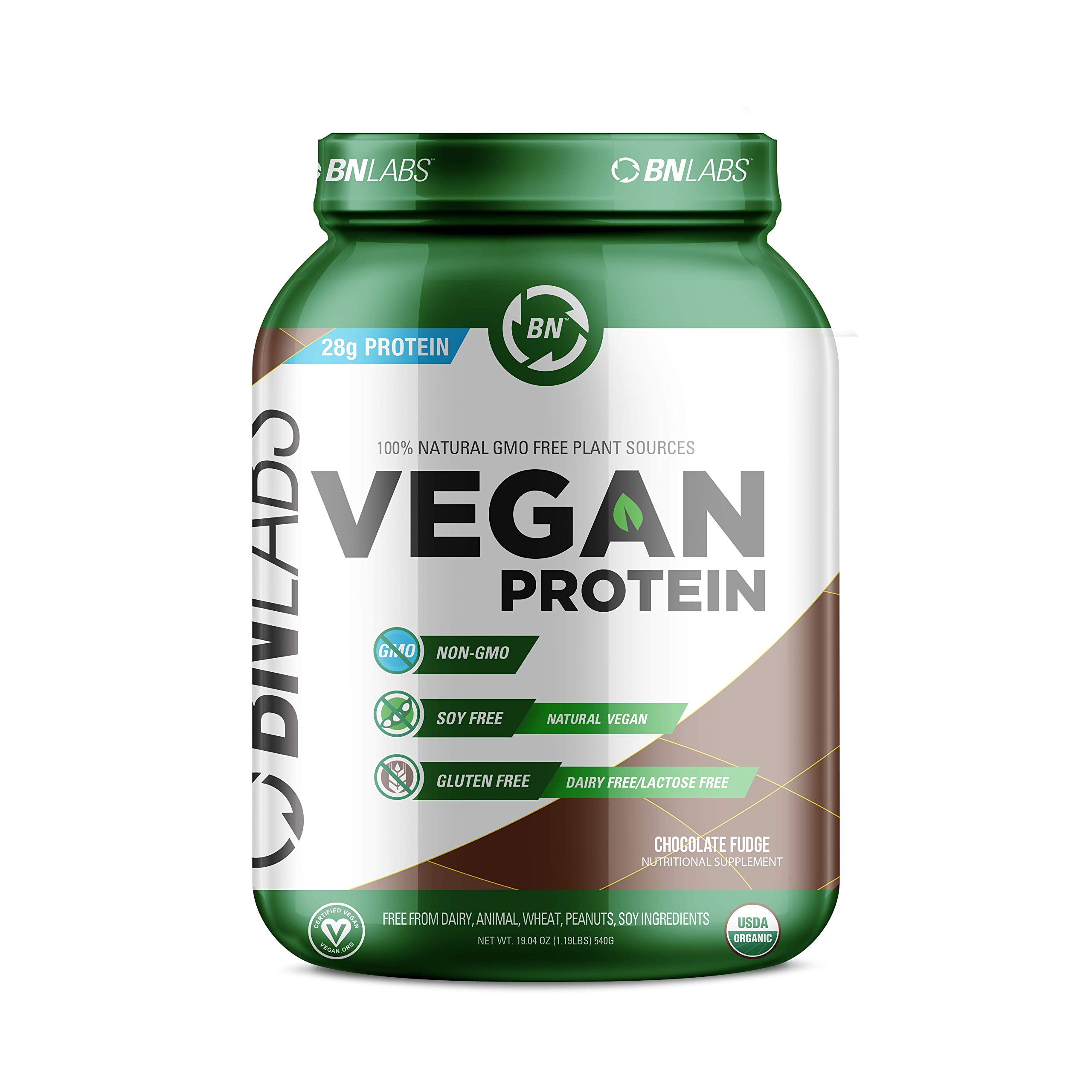 be1d65d90 Amazon.com  Organic Vegan Protein Powder - 27g Protein
