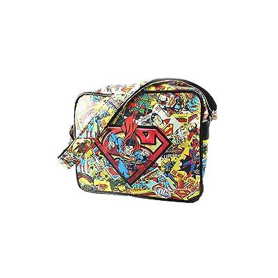 Superman Logo Retro Comic Shoulder Bag durable service