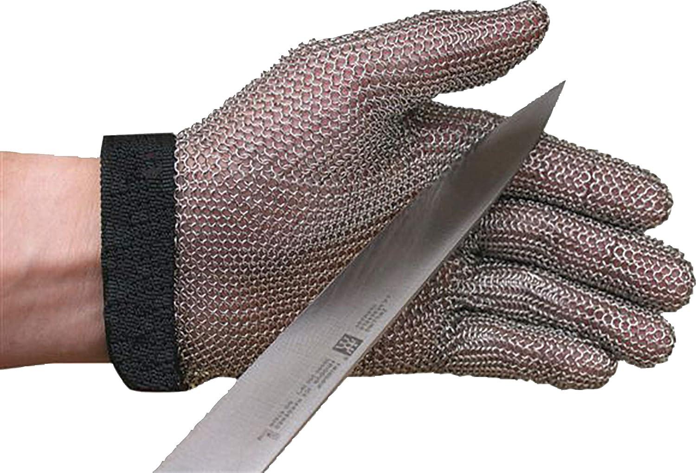 San Jamar MGA515S Professional Chain Mesh Cut-Resistant Glove, Small
