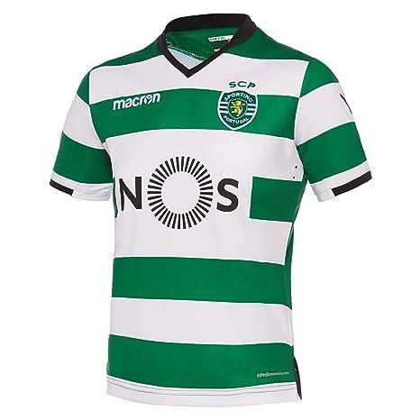 Macron Camiseta Primera equipación niño Sporting Clube de Portugal 2017/18