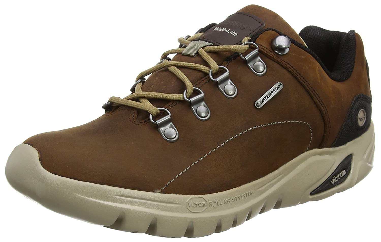 Hi-Tec V Walk-Lite Witton Trek Waterproof, Stivali da Escursionismo Uomo, Marrone (Chocolate), 42 EU