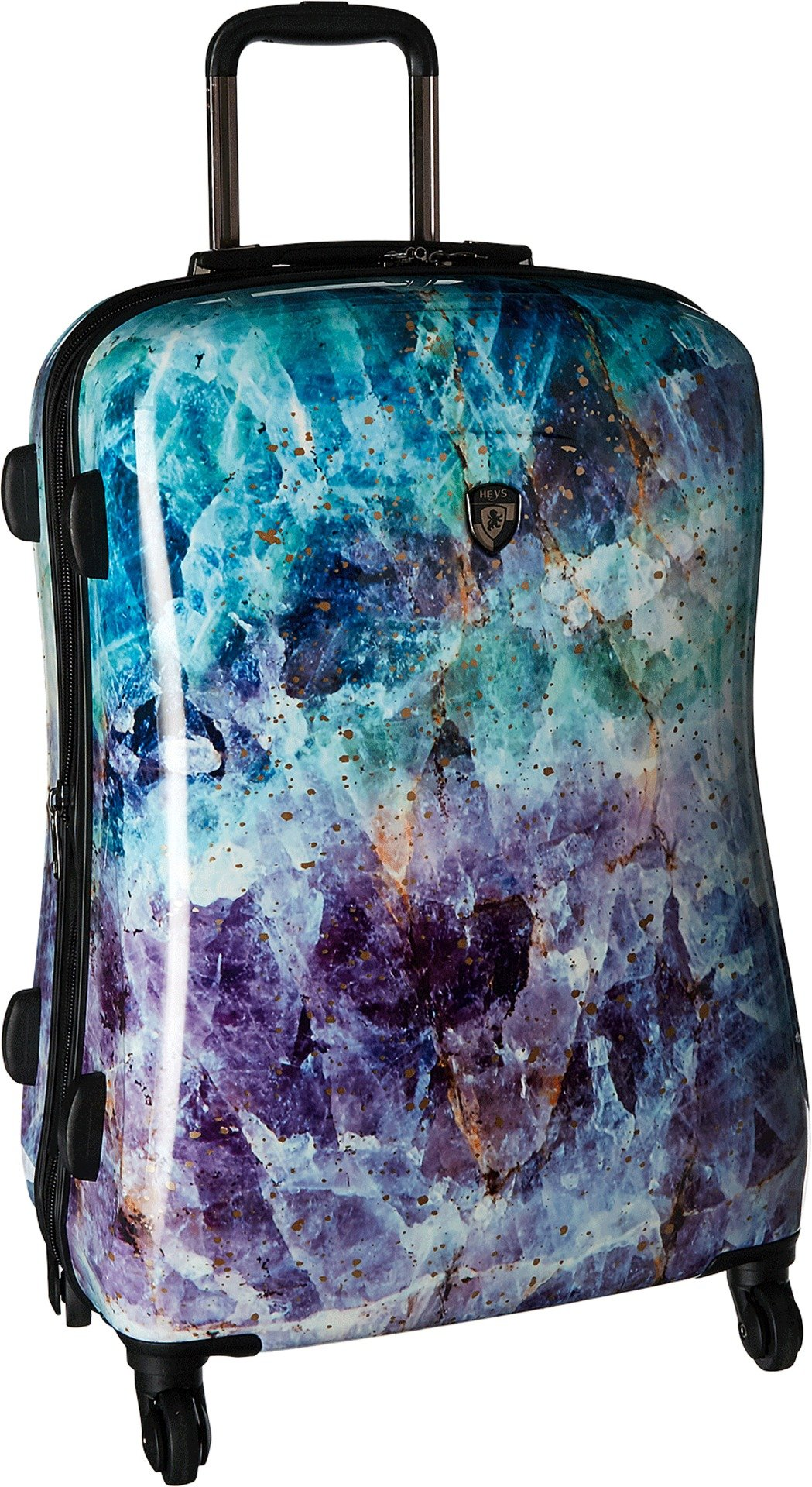 Heys America Unisex Quartz 26'' Spinner Purple Luggage by HEYS AMERICA