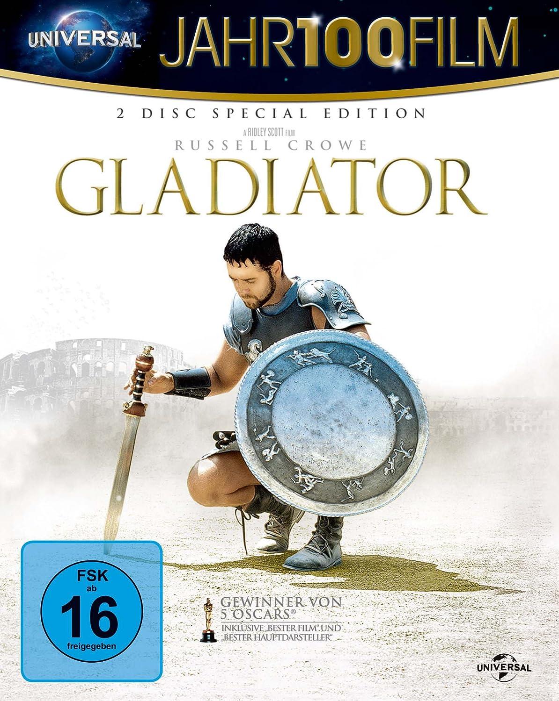 Gladiator - 10th Anniversary Edition - Jahr100Film Alemania Blu ...