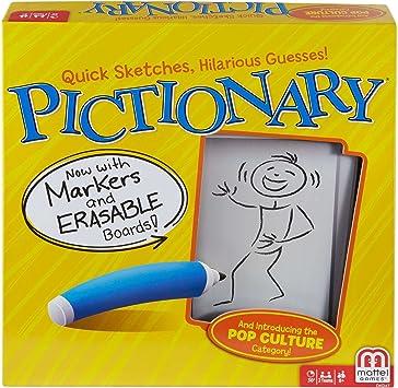 Mattel Pictionary Niños Juego de Mesa de Palabras - Juego de Tablero (Juego de Mesa de Palabras, Niños, Niño/niña, 8 año(s), China): Amazon.es: Juguetes y juegos