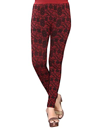 886f1f2c547 1 Stop Fashion Women s Stretchable Leggings Jeggings With Digital Print  (Free Size)